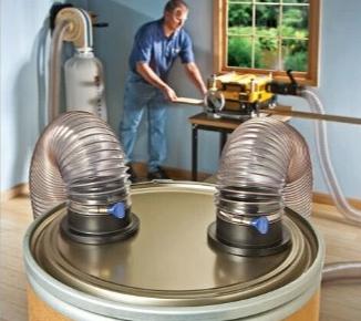 pu透明钢丝软管应用于工业吸尘器耐磨性极强