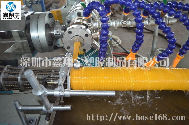 鑫翔宇PVC塑筋增强软管生产线