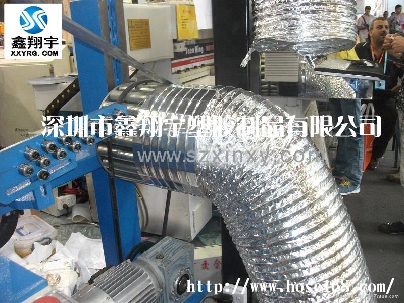 铝箔耐高温风管生产线